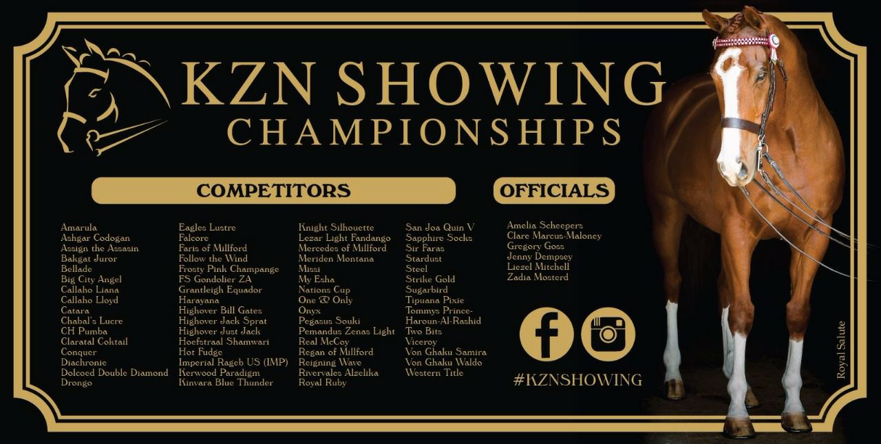 KZN Showing Championships 2017